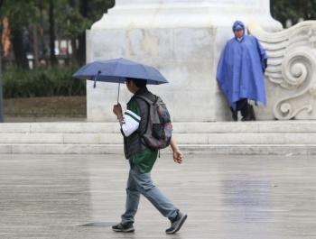 Valle de México registrará cielo nublado y lluvias este miércoles