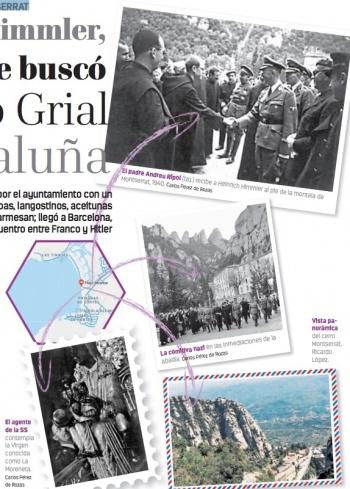 Heinrich Himmler, el nazi que buscó el Santo Grial en Cataluña