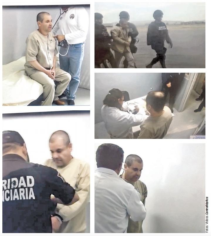 Así vivió El Chapo sus últimos momentos en México