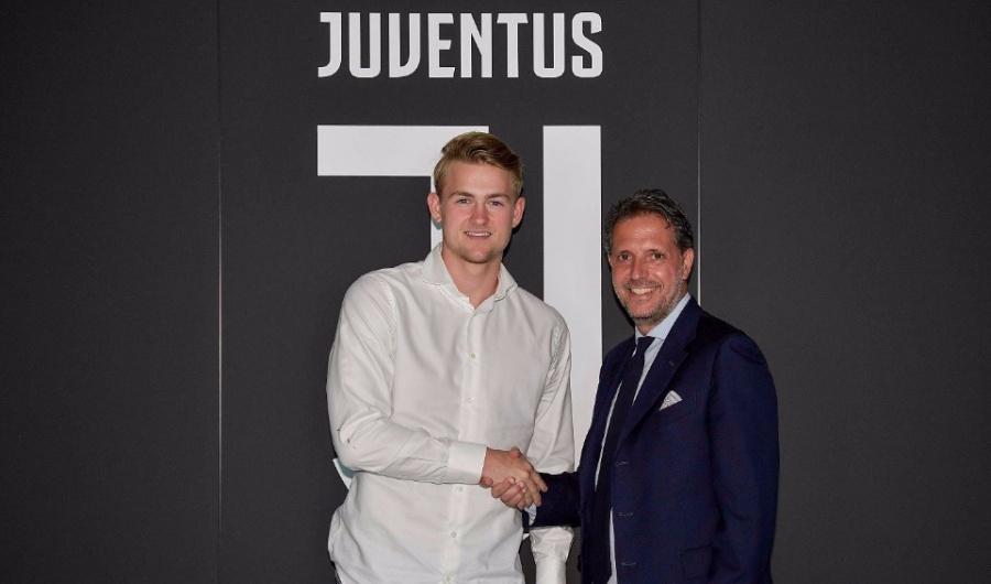 Juventus ficha a holandés Matthijs de Ligt hasta 2024