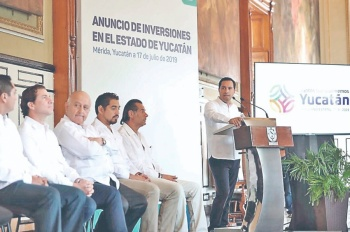 Empresas se unen en inversión de 18 mmdp para Yucatán
