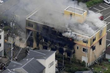 Incendio en estudio de anime en Japón deja al menos 30 muertos