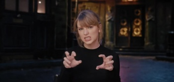 Taylor Swift ya se prepara para la película de 'Cats'