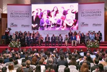 Reconocen trabajo de Higinio Martínez y Martha Guerrero en el Senado