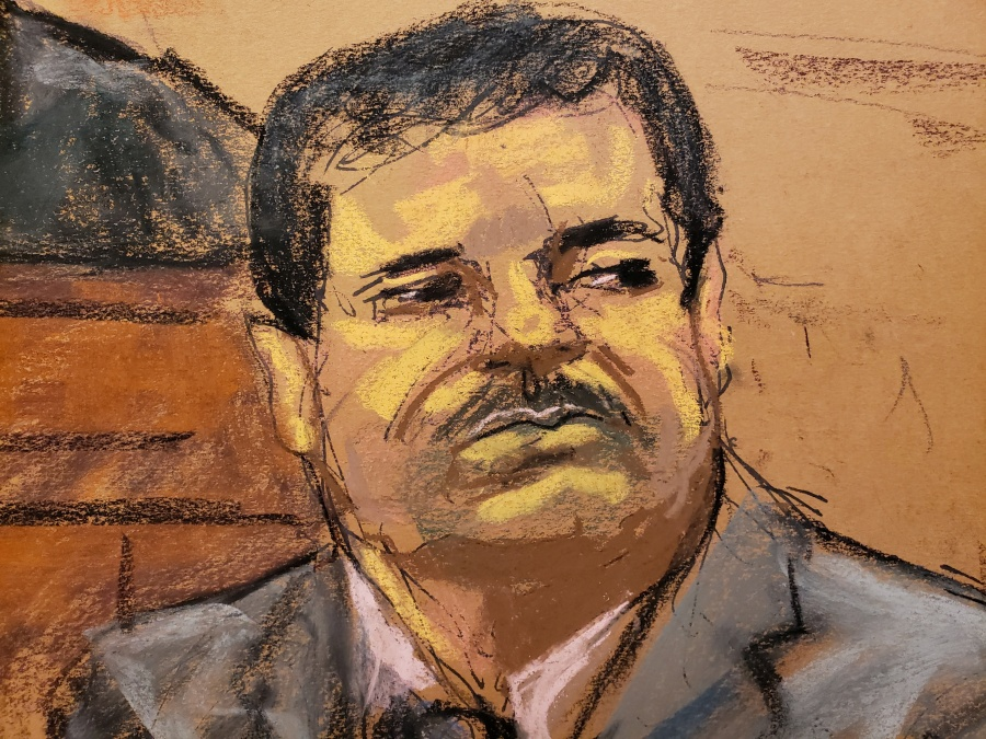 Difunden foto de 'El Chapo' subiendo a helicóptero en NY