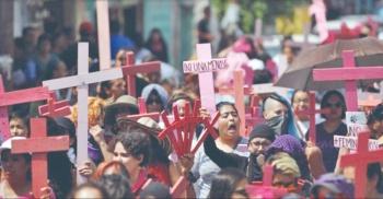 En últimos 6 meses asesinan a 10 mujeres cada día