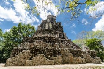 Reabren sitio arqueológico Muyil en Quintana Roo