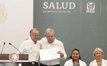 Se seleccionarán las obras de salud que serán terminadas: López Obrador