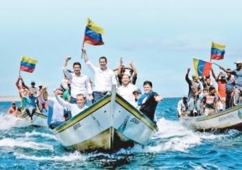 Trump da 41.9 mdd de Centroamérica a Guaidó