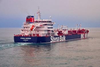 Irán anuncia captura de petrolero británico en Ormuz