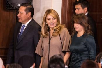 """Frustran robo en la """"Casa Blanca"""" de Angélica Rivera"""