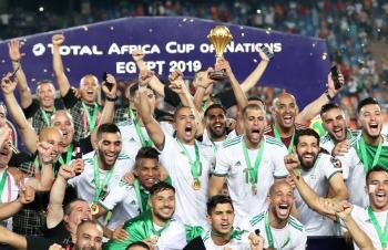 Argelia, se corona en la Copa de África