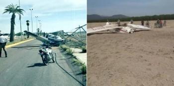 Se desploman avionetas en Coahuila y Durango