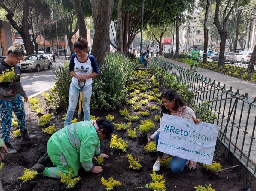 Se llevó a cabo la primera jornada #RetoVerde en Cuauhtémoc
