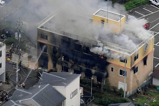El Presidente de estudio incendiado en Japón lamenta la pérdidas de jóvenes