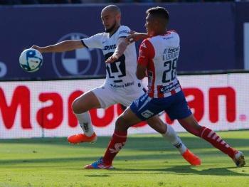 Pumas se lleva la victoria ante el Atlético de San Luis