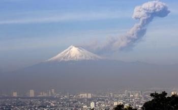 Se espera la caída de ceniza por actividad del Popocatépetl en siete alcaldías de la CDMX
