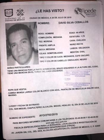 Encuentran con vida al presidente del PAN en Miguel Hidalgo