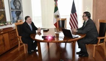Buscan profundizar relación México-EU