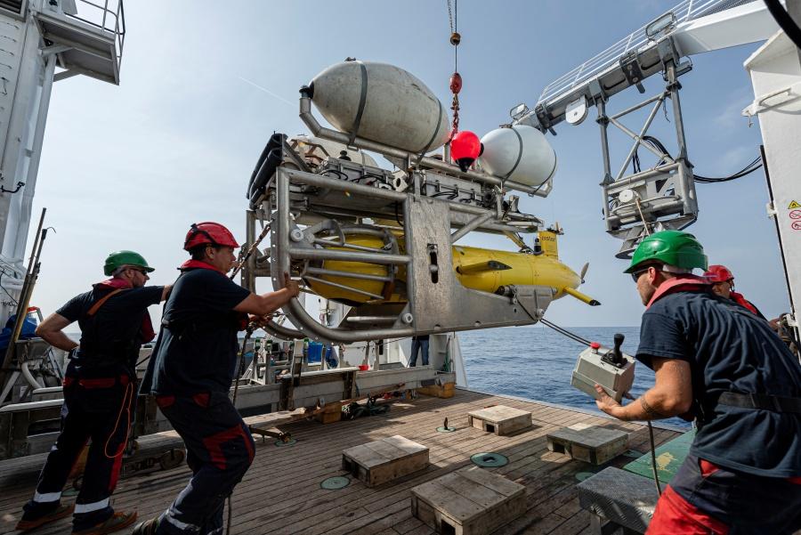 Encuentran submarino desaparecido en Francia hace 51 años