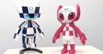 Presentan a los robots mascotas de Tokio 2020