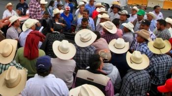Protestan en Guerrero por fertilizante