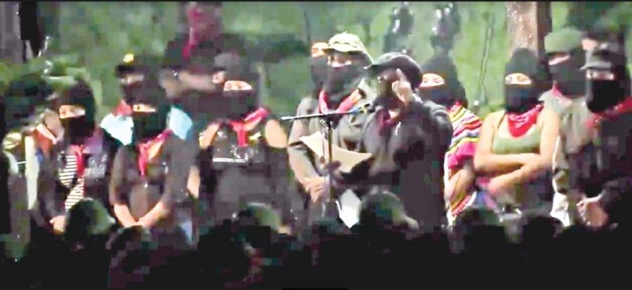 Ejército Zapatista manifiesta rechazo al Tren Maya
