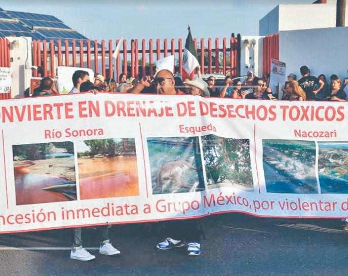 """GMéxico: el derrame resultó """"inofensivo"""""""