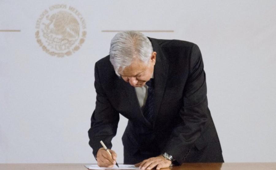 Presidencia niega existencia de oficio de no reelección de AMLO