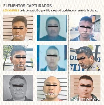 En una semana detienen a 9 policías delincuentes
