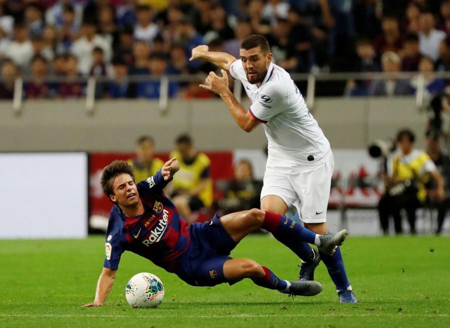 Riqui Puig opaca a Griezmann ante el Chelsea