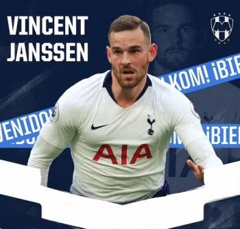 Oficial: Vincent Janssen, nuevo delantero de los Rayados