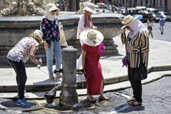 Azota a Europa ola de calor
