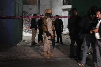 Localizan toma clandestina en bodega de PET en Miguel Hidalgo