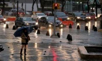 Activan alerta amarilla en 14 alcaldías por lluvia