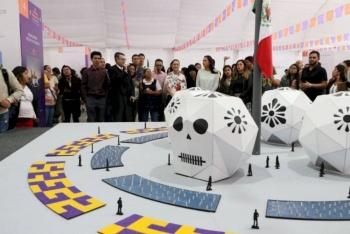 """""""Altar de altares"""", ofrenda monumental que estará en el Zócalo"""