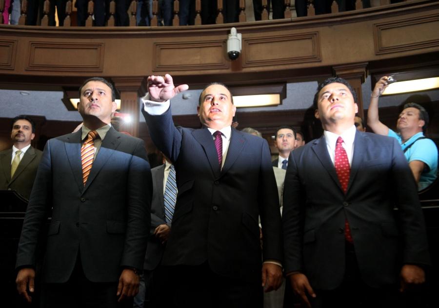 Silvano Aureoles confirma el fallecimiento José Martín Godoy Castro y Germán Ortega