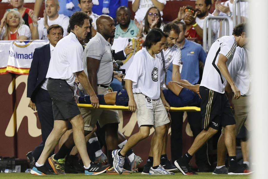 Real Madrid confirma rotura de ligamento de Marco Asensio