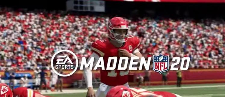 Estrenan gameplay del Madden 20