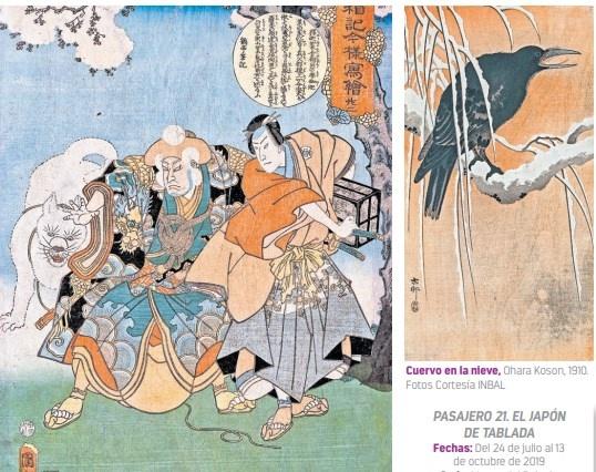 Exploran con grabados inéditos afición de Tablada por Japón
