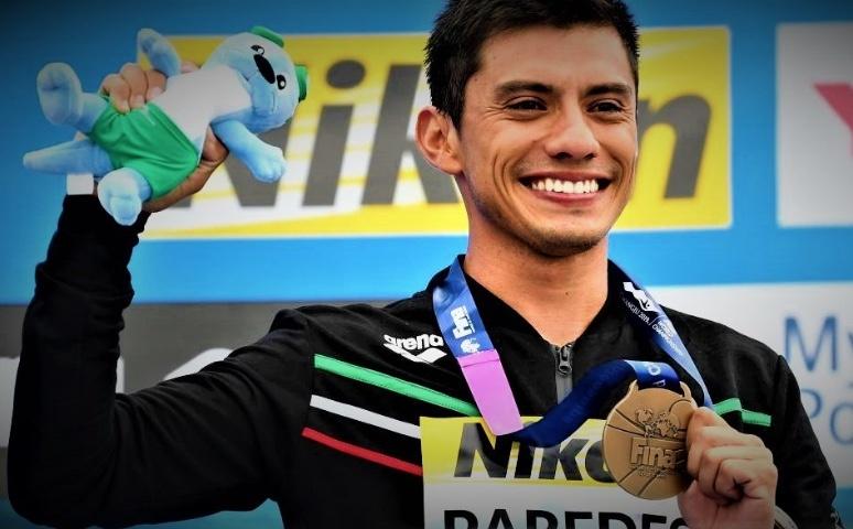 Jonathan Paredes gana bronce en mundial de clavados