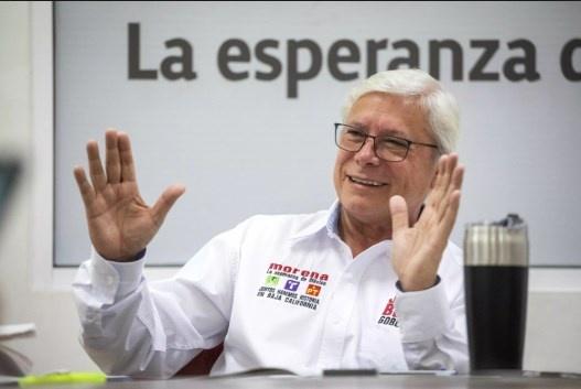 Congreso de BC valida ampliar el mandato de Jaime Bonilla