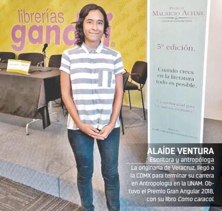 Entre los rotos de Alaíde Ventura gana el quinto Premio Mauricio Achar