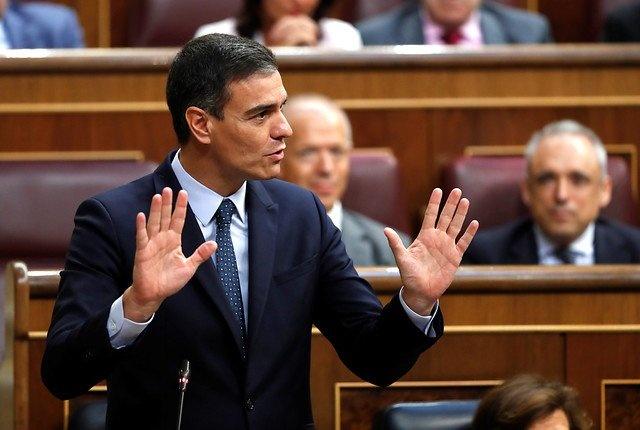 Pedro Sánchez fracasa en segunda votación española