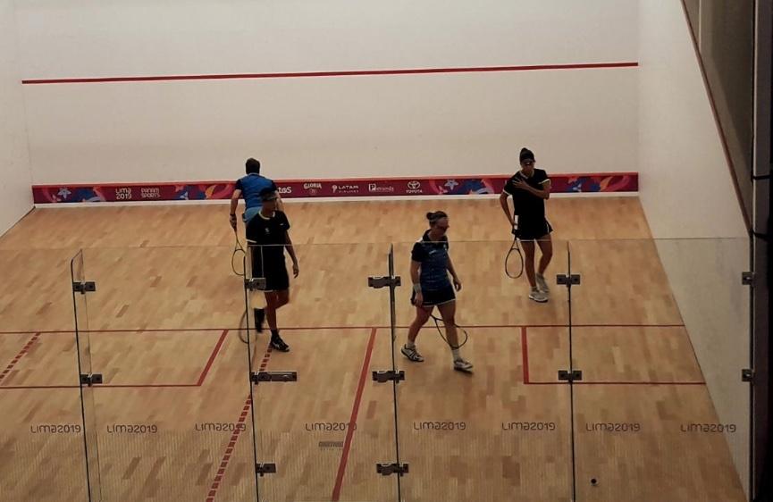 México asegura medalla de Bronce en squash en los Panamericanos de Lima