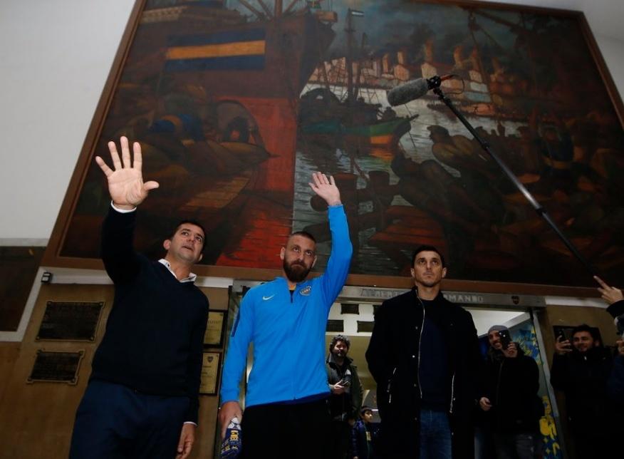 Oficial: Daniele de Rossi, nuevo jugador de Boca Juniors