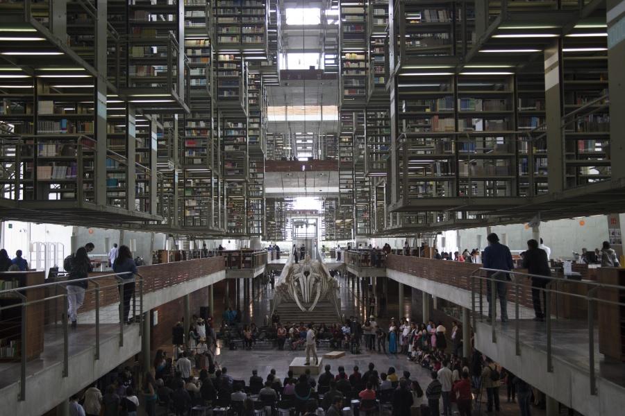Unifican bibliotecas de México y Vasconcelos