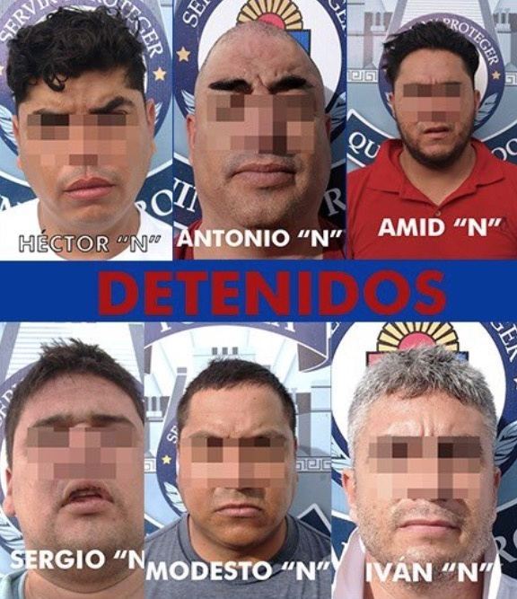 Detienen a presunto líder de cártel en Playa del Carmen