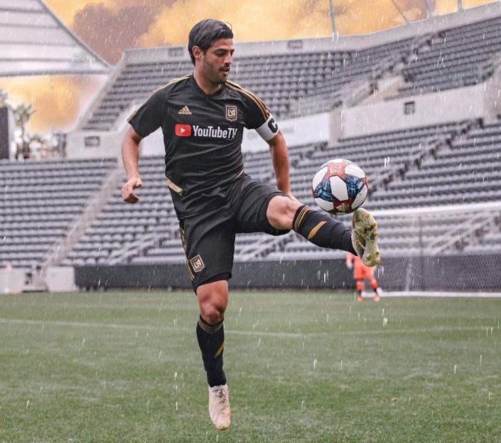 Carlos Vela, elegido capitán del All Star MLS ante el Atlético de Madrid