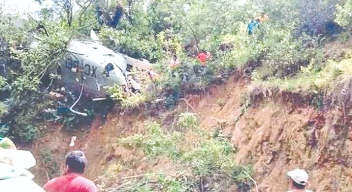 Continúan peritajes por accidente en Michoacán